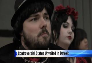 Weird Satanist Guy on Local News