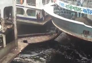 Port in Bangladesh Is Pure Chaos