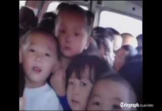 How to fit 66 Chinese kids into a minivan view on ebaumsworld.com tube online.