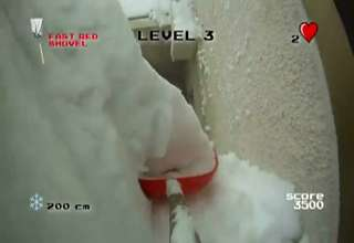 The Digger- Snow Shovelling First Person Shooter view on ebaumsworld.com tube online.