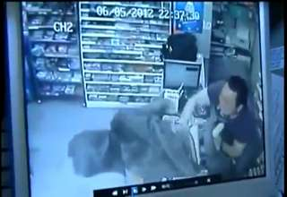 Robbers Get The Smack Down