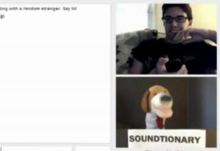 Puppets on Omegle Having a Very Good Time view on ebaumsworld.com tube online.