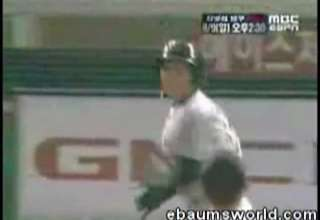 Korean Baseball Brawl