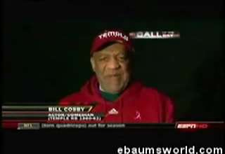 Bill Cosby Drunk on TV
