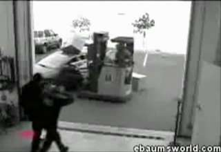Forklift VS Car