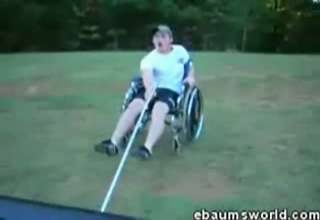 Wheelchair Sledding