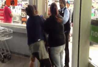 Security Nabs Out-of-Control Shoplifters view on ebaumsworld.com tube online.