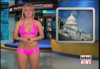 Naked News TOPless Stories Jan. 18, 2012 view on ebaumsworld.com tube online.
