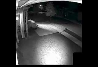 Surveillance video Of Home Invasion Twarted By Armed Homeowner view on ebaumsworld.com tube online.