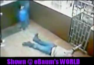 Would Be Robber Brings Vagina To A Pissing Contest view on ebaumsworld.com tube online.