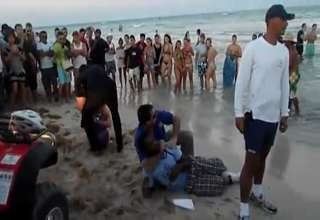 South Beach Police Confrontation 2 of 2