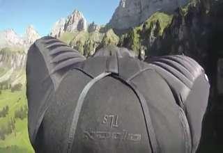 Extreme wingsuit video view on ebaumsworld.com tube online.