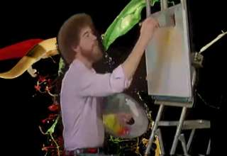 Bob Ross Sick Dubstep
