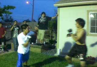 AWC Backyard fight