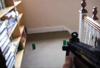 Working Lego HK UMP 45 view on ebaumsworld.com tube online.