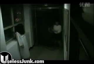 Scary Hallway Prank view on ebaumsworld.com tube online.