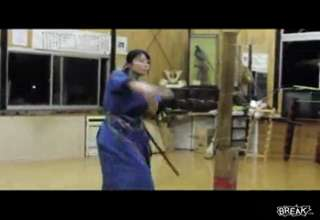 Samurai Babe With Skills
