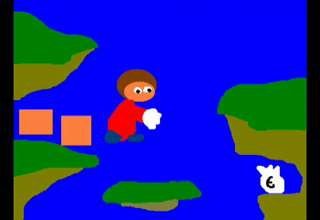 Alex Kidd in Miracle World reviewed by an 80's retro kid view on ebaumsworld.com tube online.
