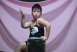 Asian Boy Dances To Christina Aguilera view on ebaumsworld.com tube online.