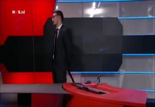 News Reporter Gets Interrupted By Dog
