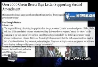 1000 Green Berets Stand up against Obama