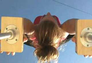 Hot POV Gymnastics