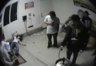 WARNING: knockout hurts girl displeasing