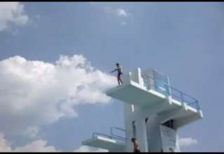 High Dive Fail...