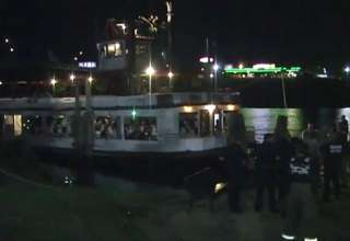 University Of Alabama Student Falls Off Boat view on ebaumsworld.com tube online.