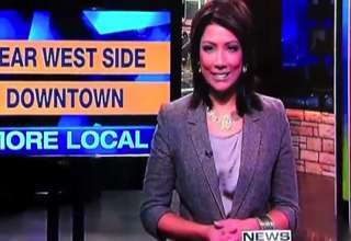 Hot News Anchor Possessed Live on the News view on ebaumsworld.com tube online.