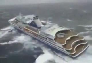 Cruise Ship In Very Rough Seas Video EBaums World - Cruise ship in rough waters