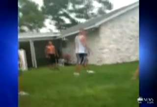 Father Attacks 16yr Old After His Son Gets Beat Up At Backyard view on ebaumsworld.com tube online.