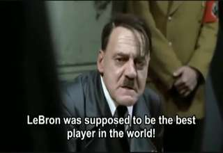 Hitler Finds Out Miami Heat Choked In The 2011 NBA Finals view on ebaumsworld.com tube online.