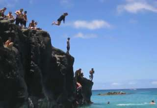 Cliff Jump FAIL