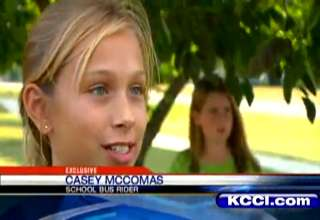School Bus Explodes Before Students' Eyes... view on ebaumsworld.com tube online.