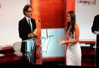 Former Playboy Playmate Steals Show At Debate In Mexico view on ebaumsworld.com tube online.