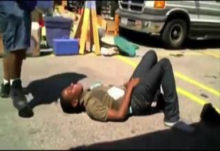 Down Syndrome Kid Beats Down Kid That Was Pestering Him view on ebaumsworld.com tube online.