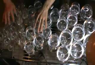 **Amazing ! Harry Potter Theme Played On Glasses view on ebaumsworld.com tube online.
