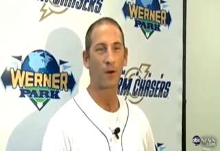 Military dad surprises family at minor league baseball game view on ebaumsworld.com tube online.