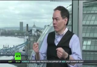 UFO Shows Up On Russia Today News In London, June 13, 2013