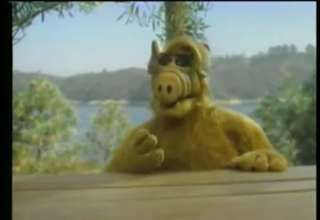 1989 - Alf Adresses the public on saving the planet. view on ebaumsworld.com tube online.