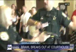 Fists Of Fury During Courthouse Brawl Video Ebaum S World
