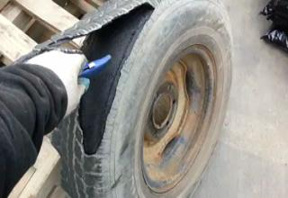 Why Cutting A Tire With A Razor Blade Is A Bad Idea