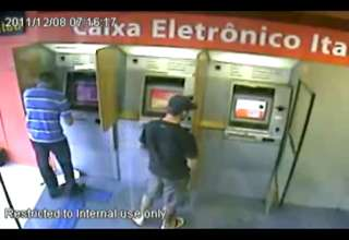 ATM robber got killed by undercover cop. view on ebaumsworld.com tube online.