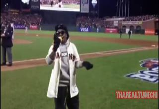 Lil Wayne Singing Take Me Out To The Ball Game