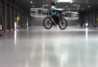 Flying Bike Helicopter