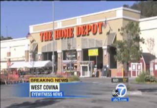 Man Cuts Arm Off In Home Depot