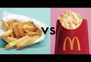restaurant fries vs mcdonald's fries