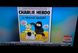 charlie hebdo cartoon of prophet muhammed
