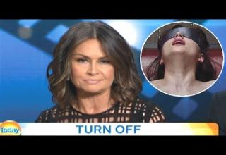 lisa wilkinson destroys 50 shades of grey